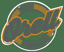 """Usługi Kominiarskie """"Orell"""" Szczecin Logo"""